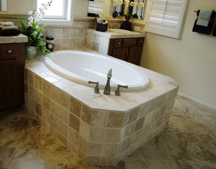 Stone Tile Flooring in Rancho Cucamonga, CA.